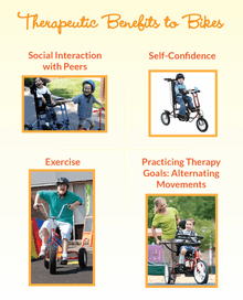 Therapeutic Benefits to Bikes