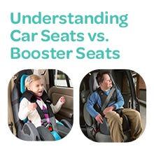 Understanding Car Seats vs. Booster Seats